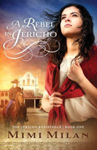 Cover Art for A Rebel in Jericho by Mimi  Milan