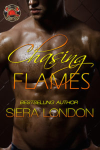 Cover Art for Chasing Flames by Siera London