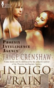 Cover Art for Indigo Rain by Taige  Crenshaw