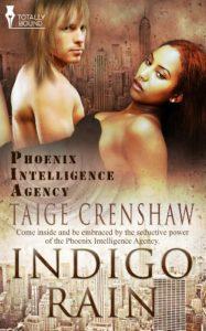 Cover Art for Indigo Rain by Taige  Crenshaw