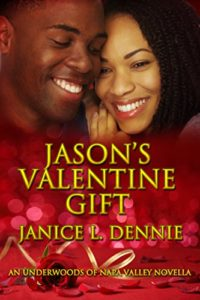 Cover Art for Jason's Valentine Gift by Janice Dennie