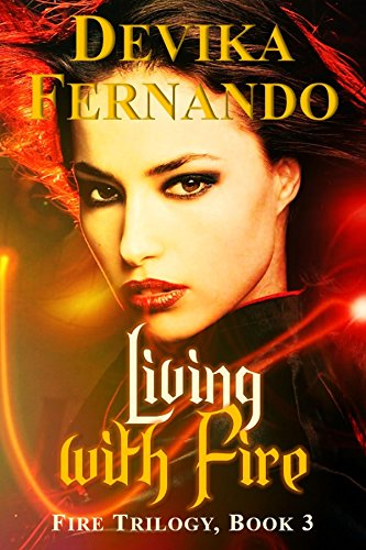 Cover Art for Living with Fire by Devika  Fernando