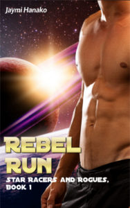 Cover Art for Rebel Run by Jaymi Hanako