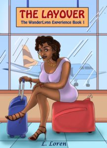 Cover Art for The Layover by L. Loren