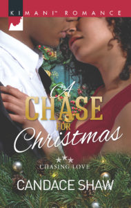 Cover Art for A Chase for Christmas by Candace Shaw