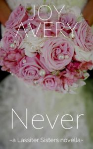 Cover Art for NEVER by Joy Avery