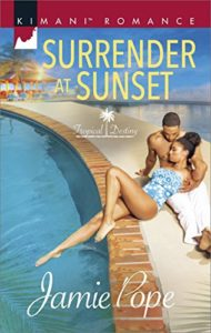 Cover Art for Surrender at Sunset by Jamie  Pope
