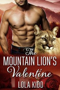Cover Art for The Mountain Lion's Valentine by Lola  Kidd