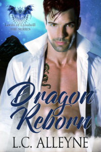 Cover Art for Dragon Reborn by L.C. Alleyne