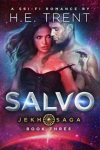 Cover Art for Salvo by H.E. Trent