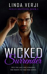 Cover Art for WICKED SURRENDER by Linda Verji