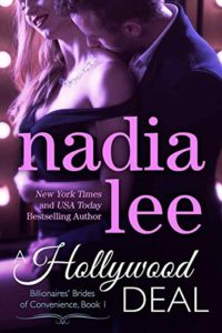 Cover Art for A HOLLYWOOD DEAL by Nadia Lee