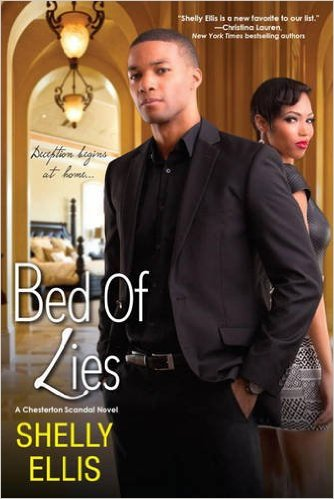Cover Art for BED OF LIES by Shelly Ellis