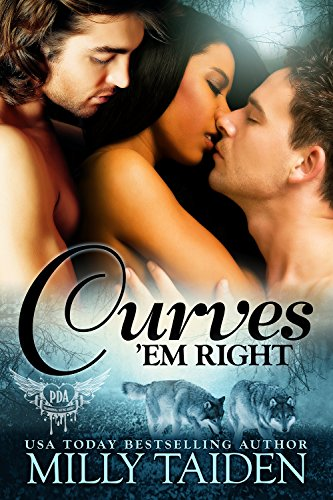 Cover Art for Curves 'em Right by Milly  Taiden