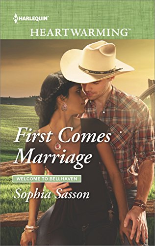 Cover Art for First Comes Marriage by Sophia  Sasson