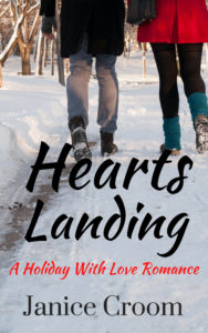 Cover Art for Hearts Landing by Janice Croom