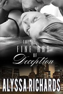 Cover Art for The Fine Art of Deception by Alyssa  Richards