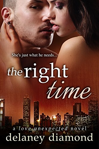 Cover Art for The Right Time by Delaney Diamond