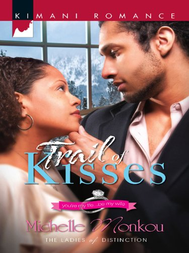 Cover Art for Trail of Kisses by Michelle  Monkou