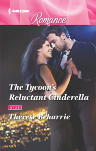 Cover Art for The Tycoon's Reluctant Cinderella by Therese Beharrie