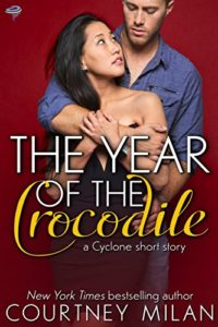 Cover Art for THE YEAR OF THE CROCODILE by Courtney Milan