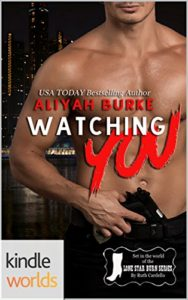 Cover Art for WATCHING YOU by Aliyah Burke