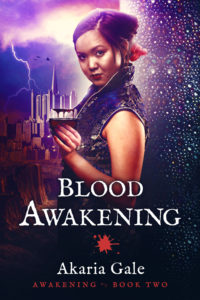 Cover Art for Blood Awakening by Akaria Gale