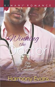 Cover Art for WINNING THE DOCTOR by Harmony Evans