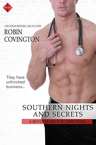 Cover Art for SOUTHERN NIGHTS AND SECRETS by Robin Covington
