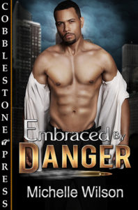 Cover Art for Embraced By Danger by Michelle Wilson