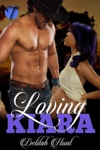 Cover Art for Loving Kiara by Delilah Hunt