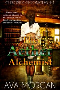 Cover Art for The Aether Alchemist by Ava Morgan