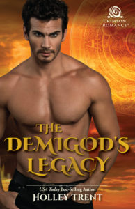 Cover Art for The Demigod's Legacy by Holley Trent