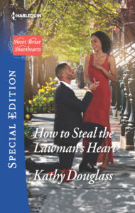 Cover Art for HOW TO STEAL THE LAWMAN'S HEART by Kathy Douglass