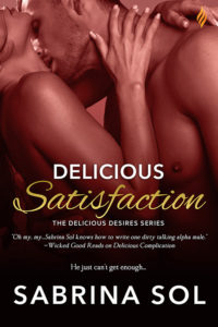 Cover Art for Delicious Satisfaction by Sabrina Sol