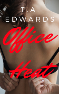 Cover Art for Office Heat by T.A. Edwards