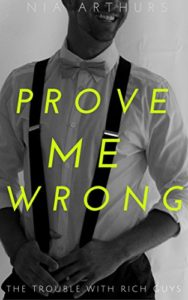 Cover Art for Prove Me Wrong by Nia Arthurs