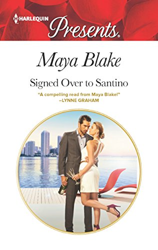 Cover Art for Signed Over to Santino by Maya Blake