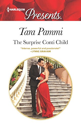 Cover Art for The Surprise Conti Child by Tara Pammi