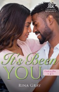 Cover Art for It's Been You by Rina Gray