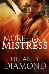 Cover Art for More Than a Mistress by Delaney Diamond