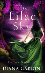 Cover Art for The Lilac Sky by Diana Gardin