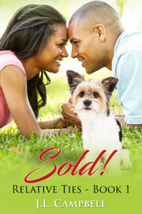 Cover Art for Sold! by J.L. Campbell