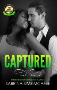 Cover Art for Captured by Sabrina Sims McAfee
