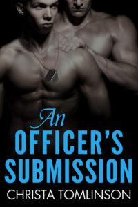 Cover Art for An Officer's Submission by Christa Tomlinson