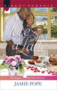 Cover Art for LOVE AND A LATTE by Jamie Pope