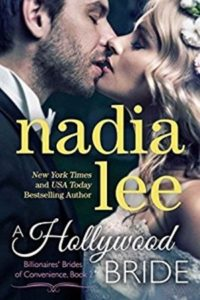 Cover Art for A HOLLYWOOD BRIDE by Nadia Lee