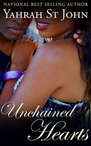 Cover Art for UNCHAINED HEARTS by Yahrah St. John