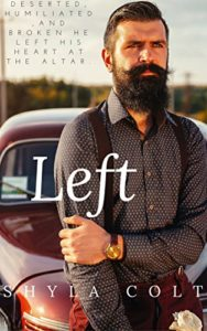 Cover Art for LEFT by Shyla Colt