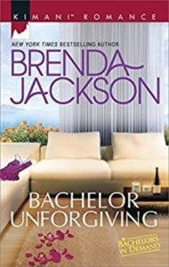 Cover Art for BACHELOR UNFORGIVING by Brenda Jackson